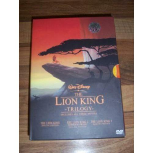 Walt Disney The Lion King Trioligy Box in nieuwstaat