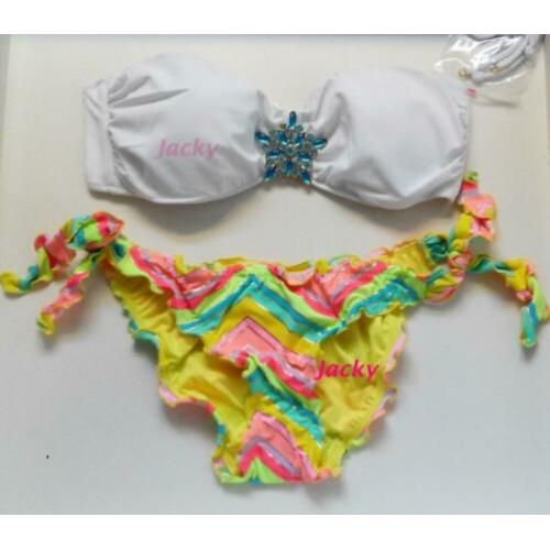 Victoria's Secret originele bikini ruffle cheeky slip M