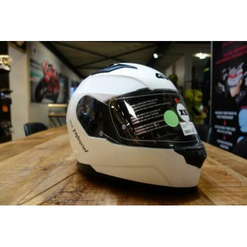 Givi Integraal helm Tridion 50.5 wit, maat (XS)