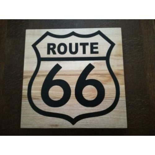 Wooden wall decorations (Route 66)