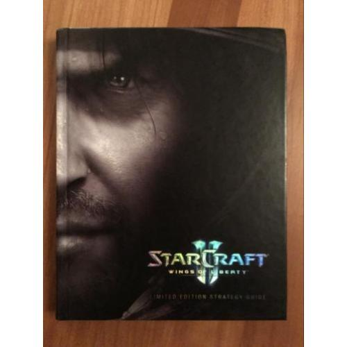 Starcraft 2 Wings of Liberty Limited Edition Strategy Guide